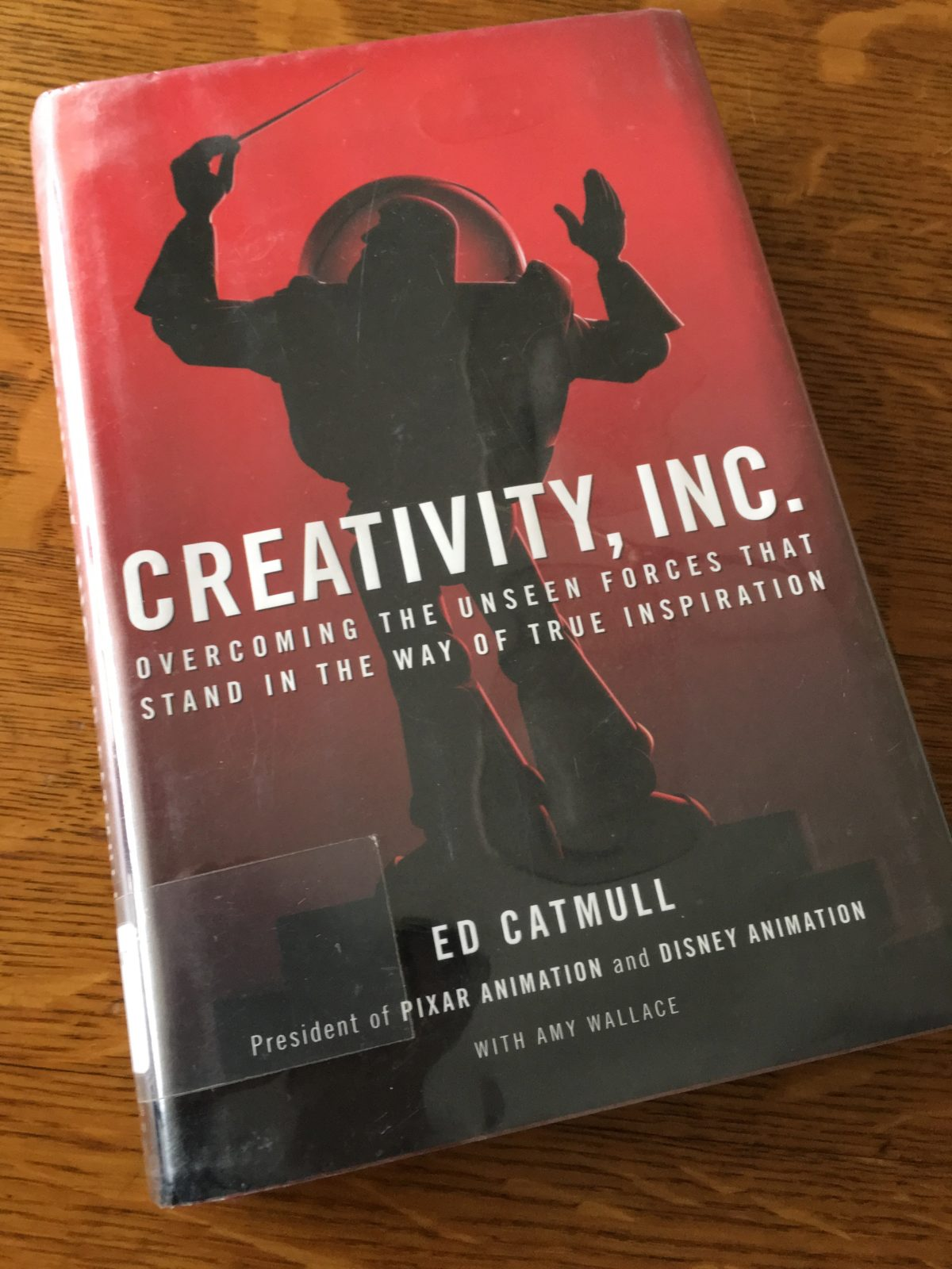 Ed Catmul's Creativity Inc,